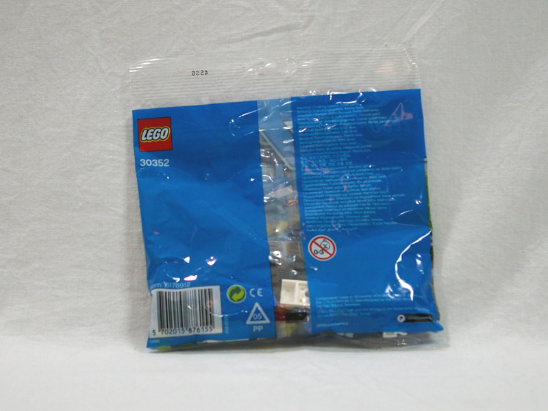 #30352 レゴ オープンカーのパトカー 背面の写真