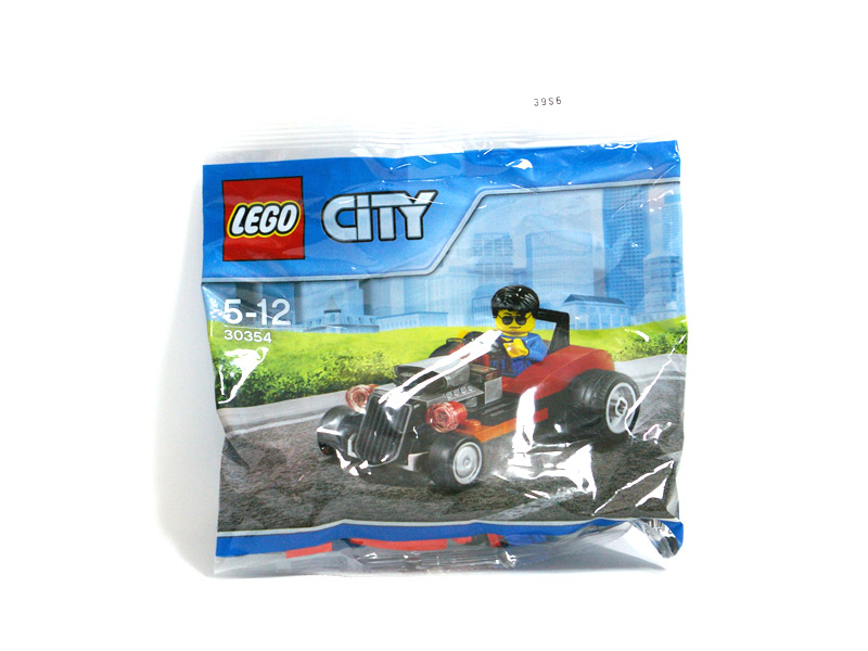 #30354 レゴ ホットロッド 正面の画像