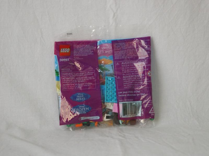 #30397 レゴ オラフのサマータイム 背面の写真