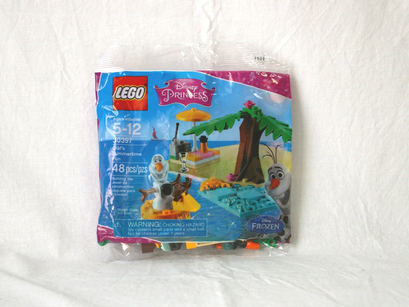 #30397 レゴ オラフのサマータイム 正面の画像
