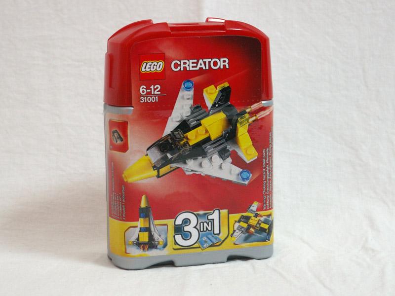 #31001 レゴ ミニスカイジェット 正面の画像