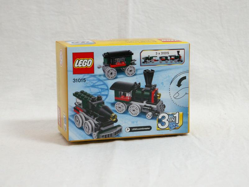 #31015 レゴ エメラルドエクスプレス 背面の写真
