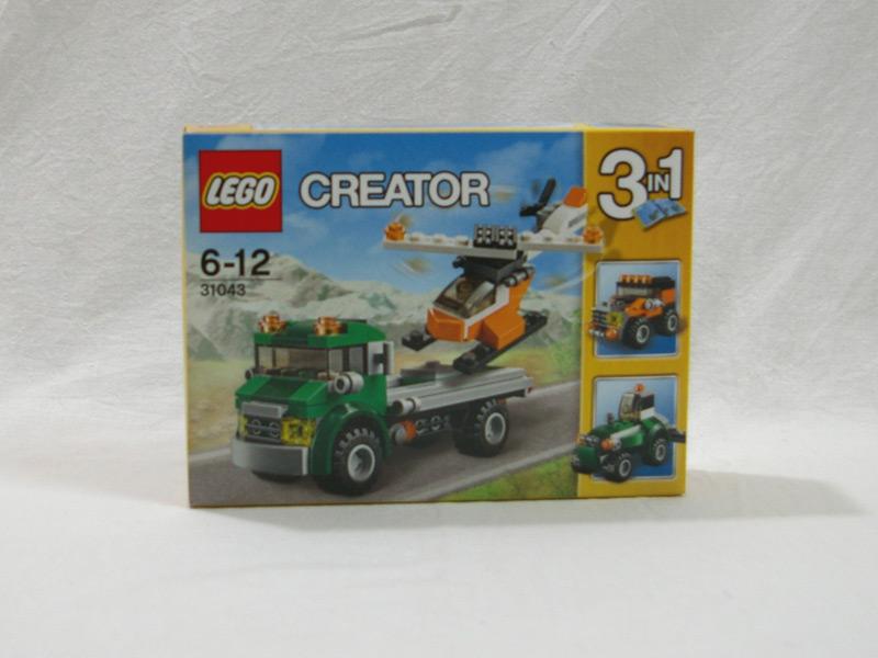 #31043 レゴ ヘリコプター輸送車