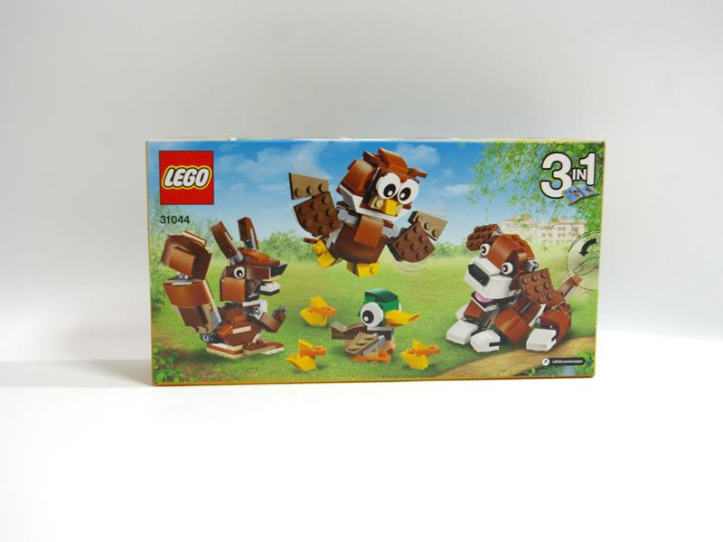 #31044 レゴ 公園の動物たち 背面の写真