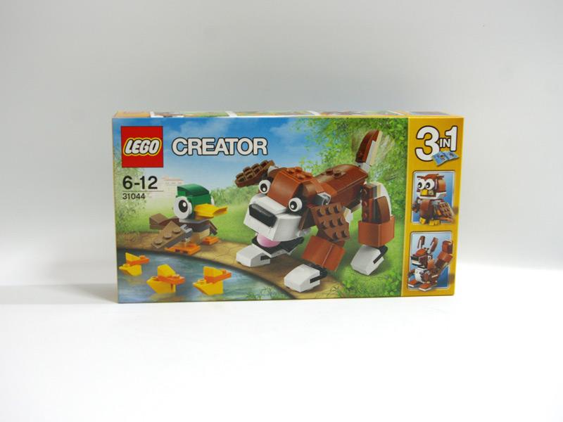 #31044 レゴ 公園の動物たち 正面の画像