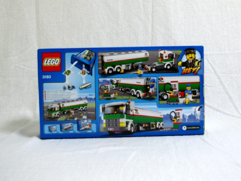 #3180 レゴ タンクローリー 背面の写真