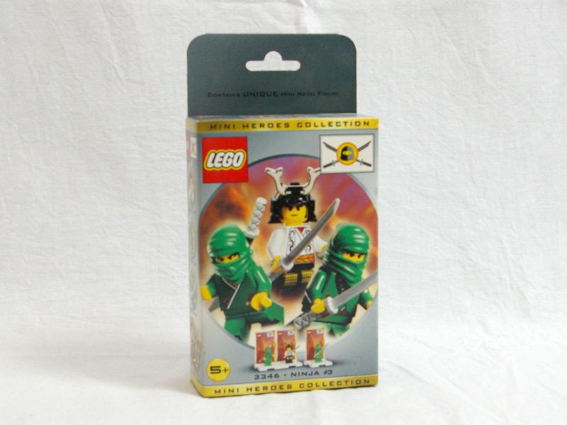 #3346 レゴ ニンジャミニフィグパック3