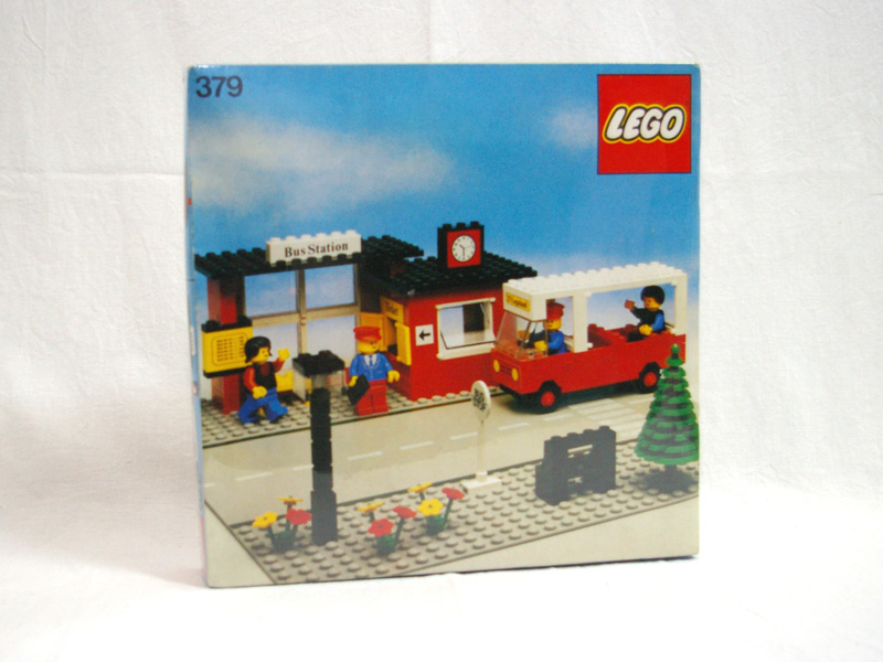 #379 レゴ バスストップ