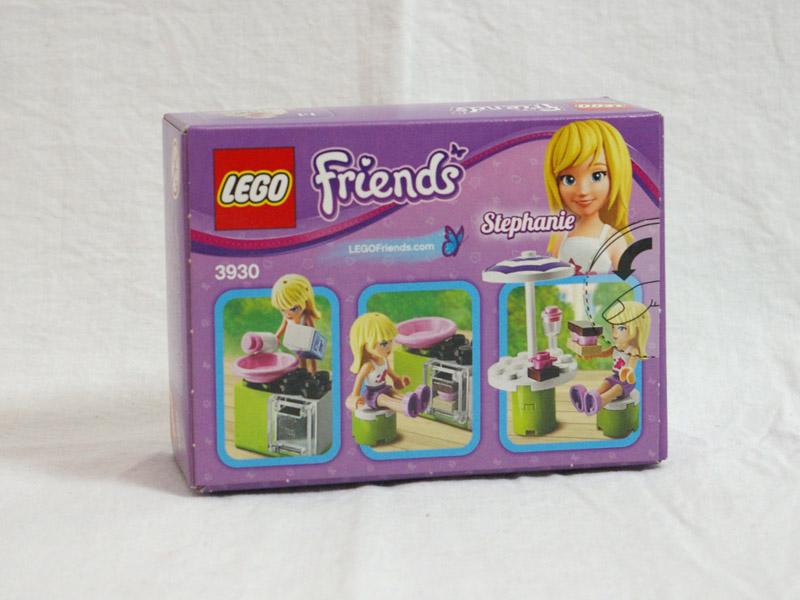 #3930 レゴ アウトドアベーカリー 背面の写真