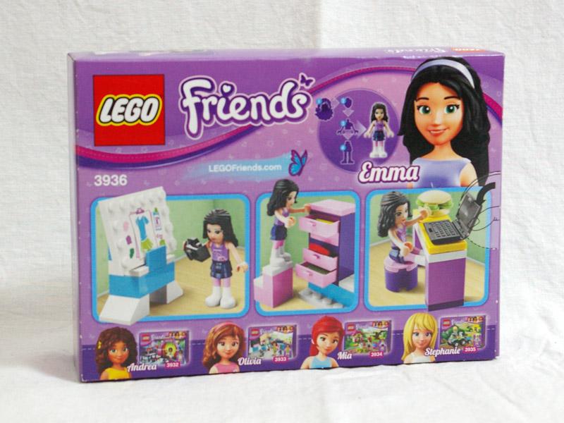 #3936 レゴ デザインスタジオ 背面の写真