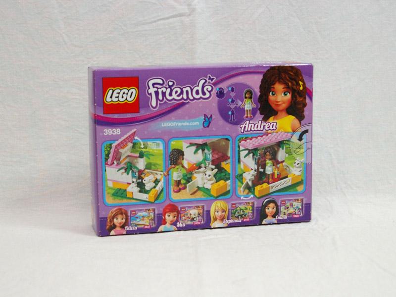 #3938 レゴ バニーガーデン 背面の写真