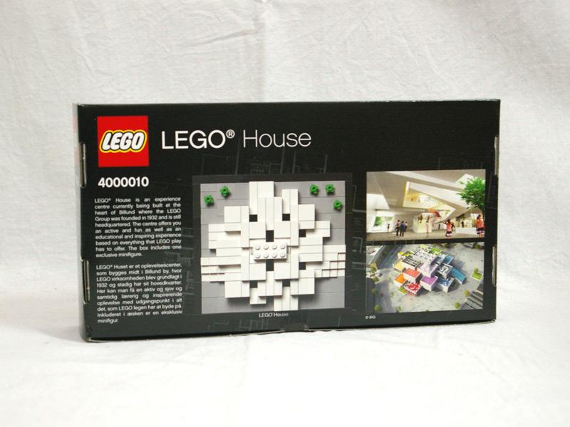 #4000010 レゴ ハウス 背面の写真