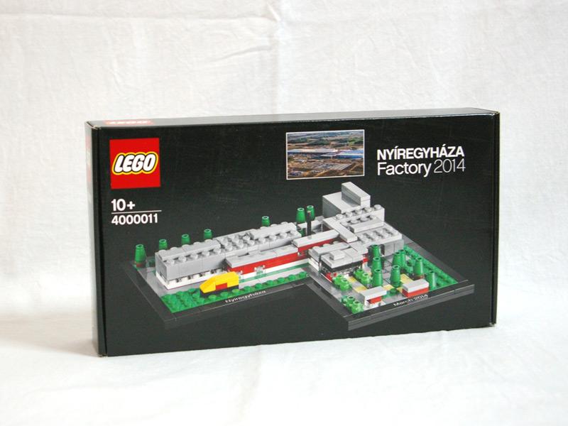 #4000011 レゴ ニーレジハーザ工場