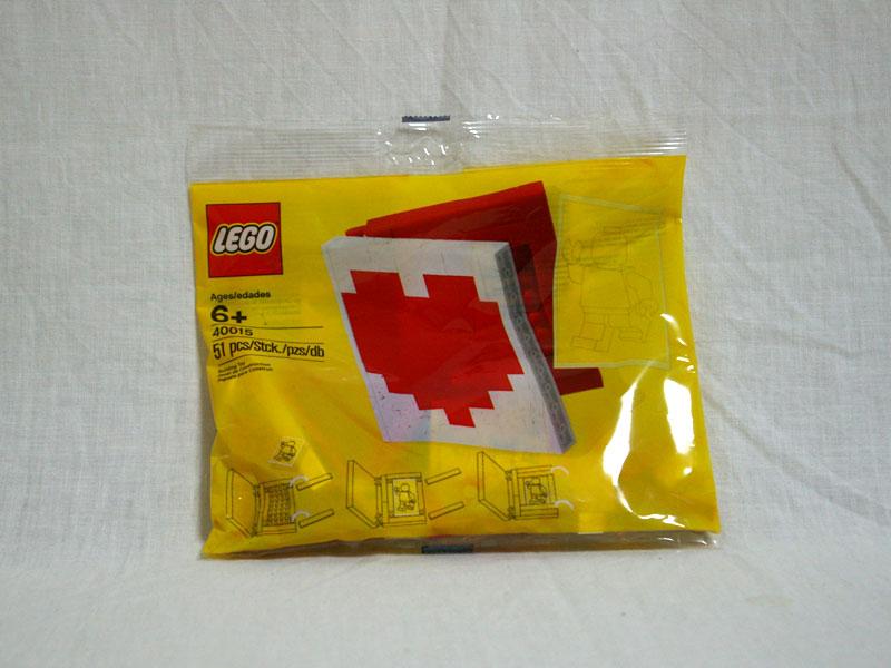 #40015 レゴ ハートブック