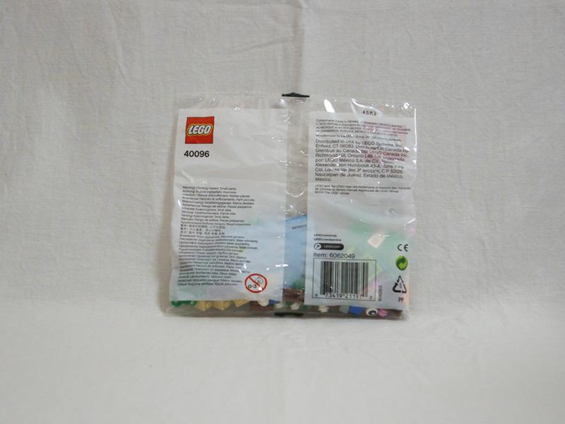 #40096 レゴ 春の木 背面の写真