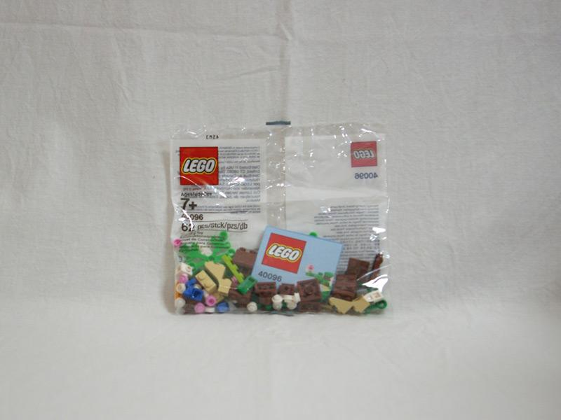 #40096 レゴ 春の木 正面の画像