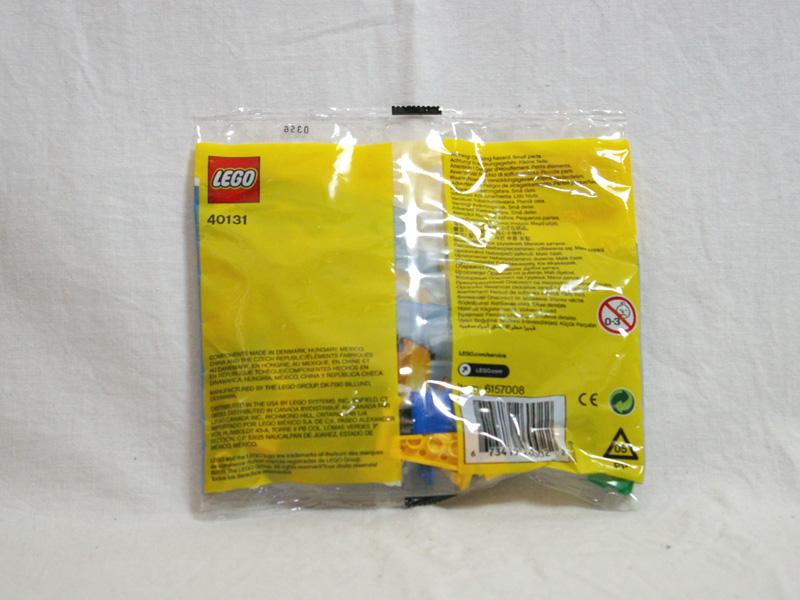 #40131 レゴ オウム 背面の写真