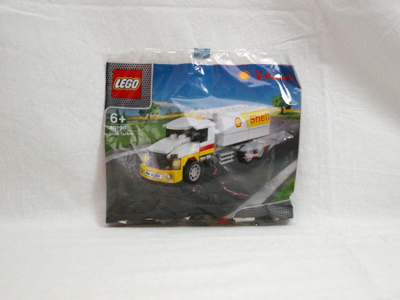 #40196 レゴ シェルタンクローリー 正面の画像