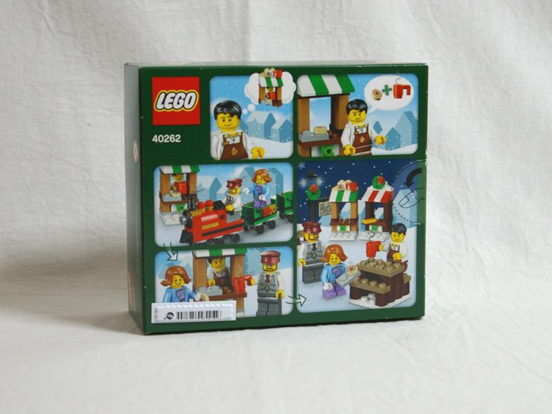 #40262 レゴ クリスマス・トレイン・ライド 背面の写真
