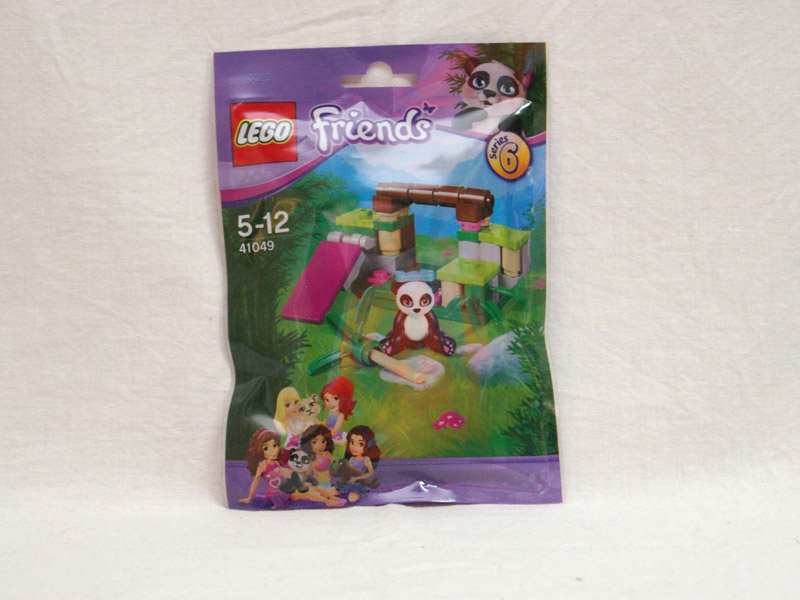 #41049 レゴ パンダとラッキーバンブー 正面の画像