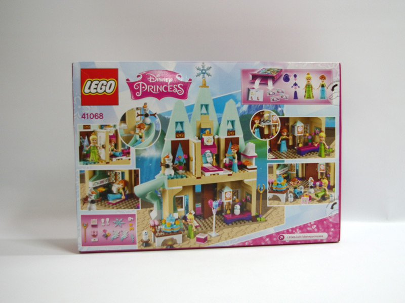 #41068 レゴ アナとエルサのアレンデール城 背面の写真