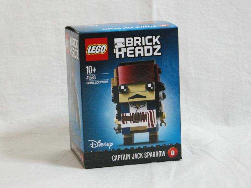 #41593 レゴ ブリックヘッズ ジャック・スパーロー 正面の画像
