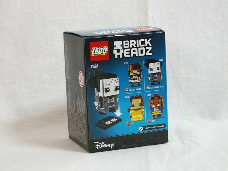 #41594 レゴ ブリックヘッズ アルマンド・サラザール 背面の写真