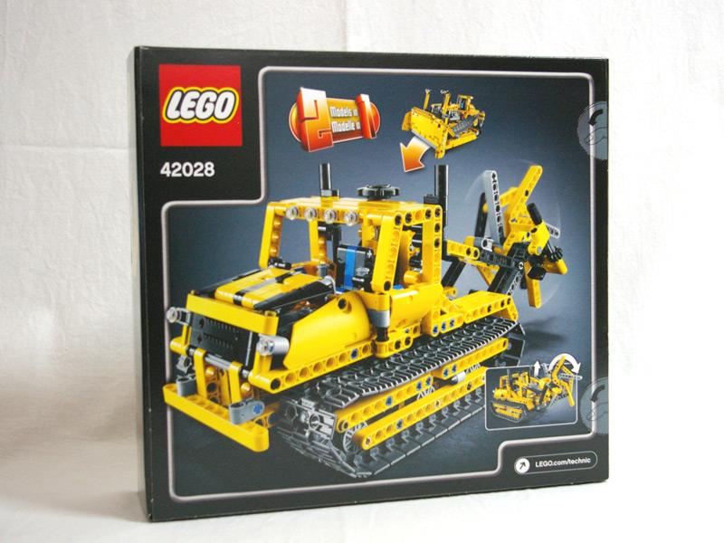 #42028 レゴ ブルドーザー 背面の写真