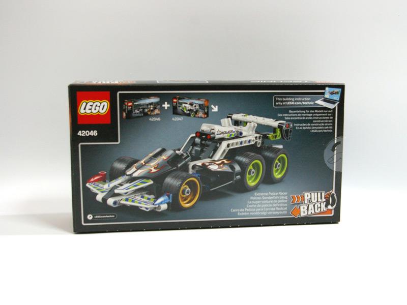 #42046 レゴ 疾走レーサー 背面の写真