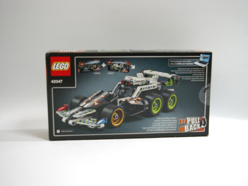 #42047 レゴ 4WDポリスカー 背面の写真
