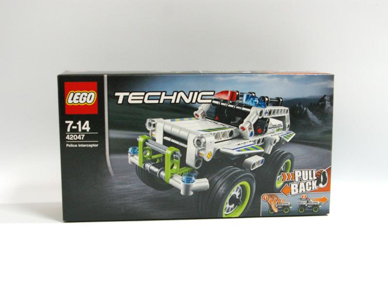 #42047 レゴ 4WDポリスカー 正面の画像
