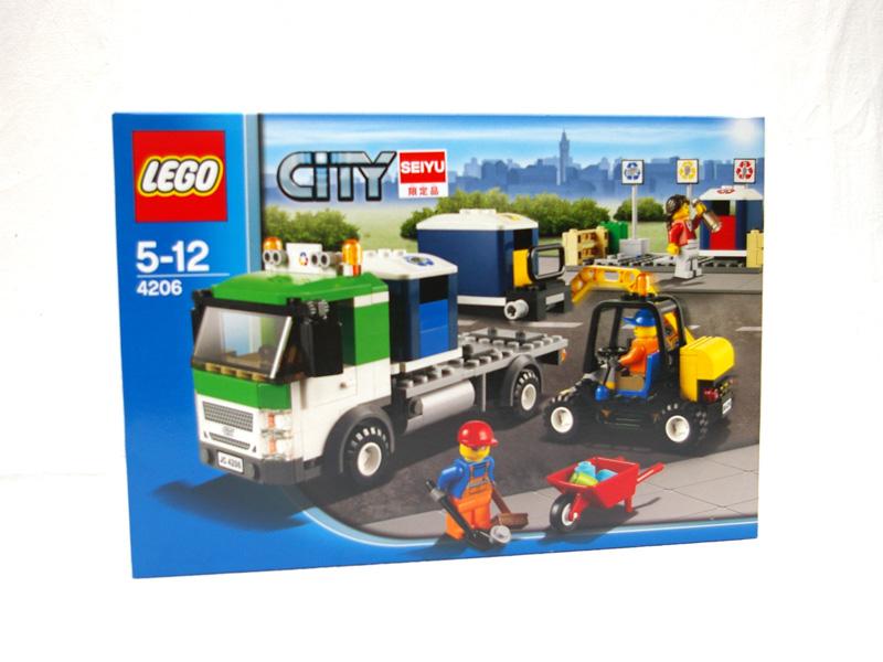 #4206 レゴ リサイクルトラック