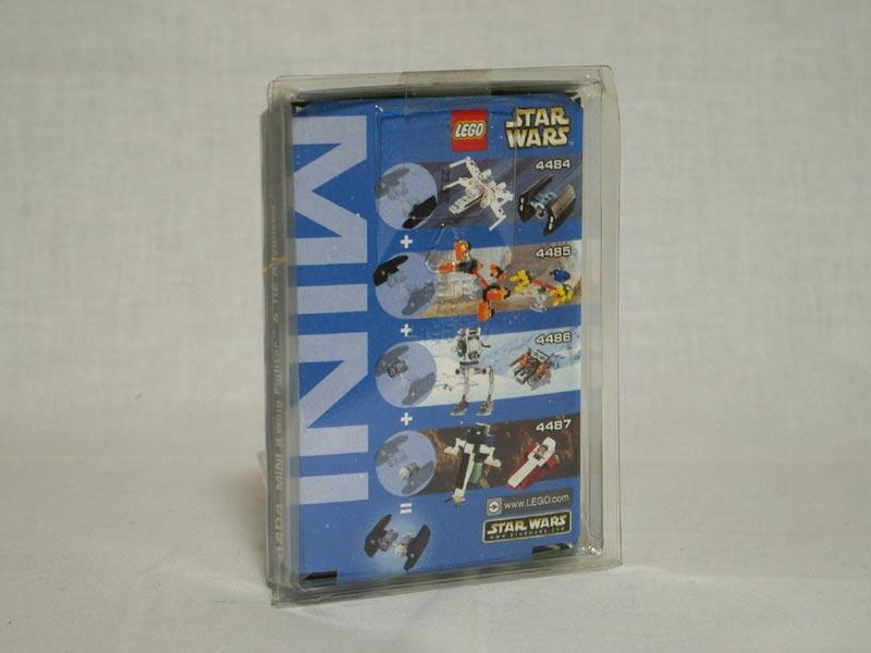 #4484 レゴ ミニ Xウイングとタイ・アドバンス 背面の写真
