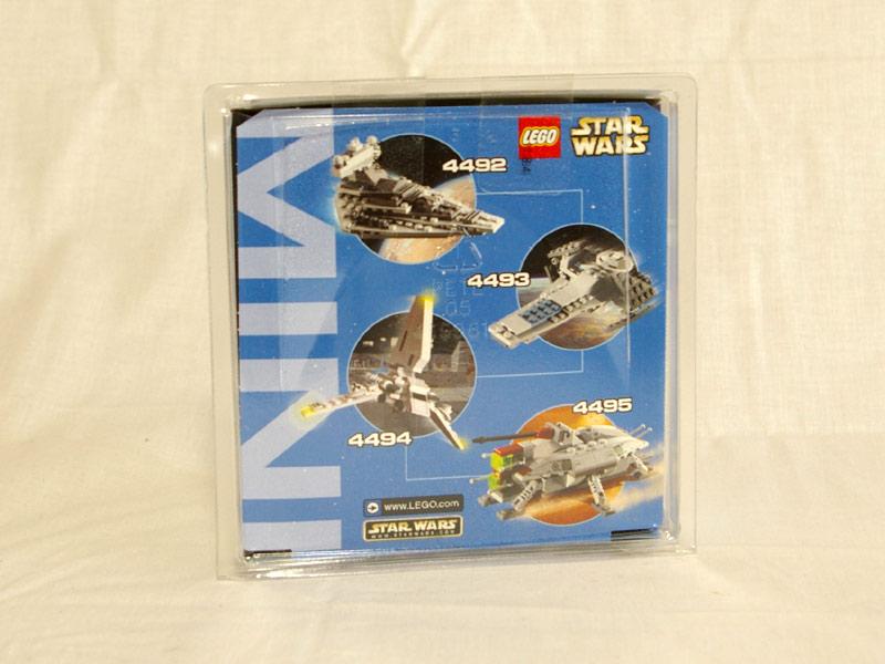 #4492 レゴ ミニインペリアルデストロイヤー 背面の写真