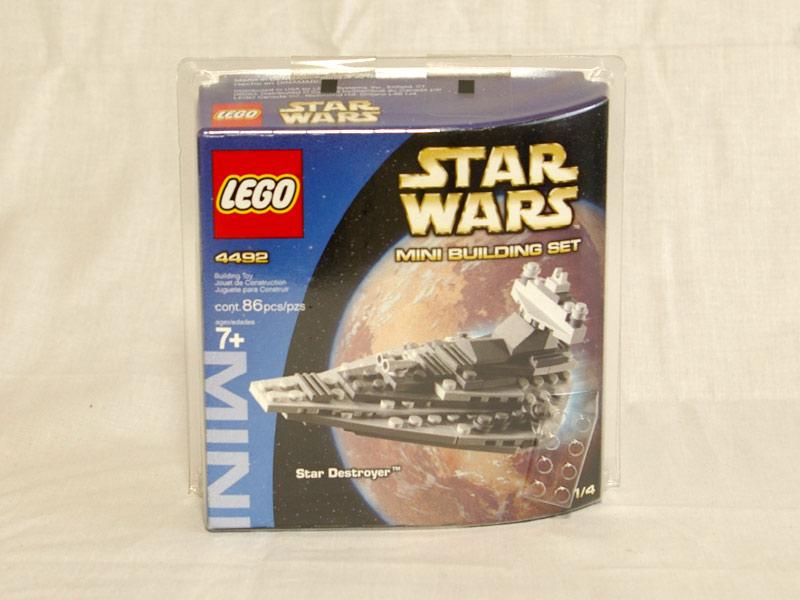 #4492 レゴ ミニインペリアルデストロイヤー 正面の画像