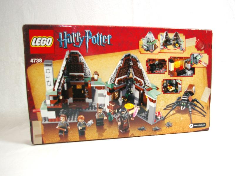 #4738 レゴ ハグリッドの小屋 背面の写真