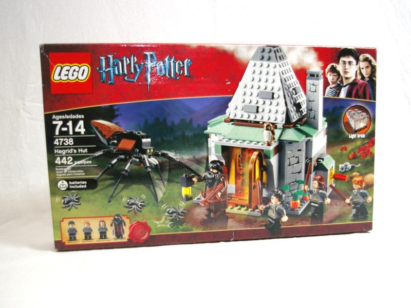#4738 レゴ ハグリッドの小屋