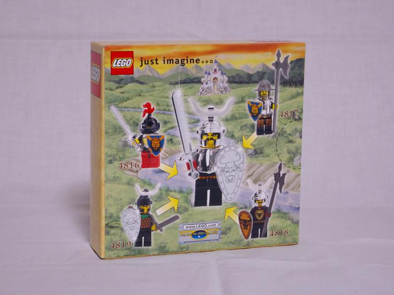 #4819 レゴ 盗賊団の馬車 背面の写真