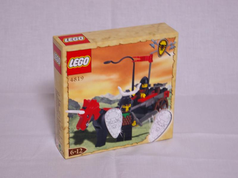 #4819 レゴ 盗賊団の馬車 正面の画像