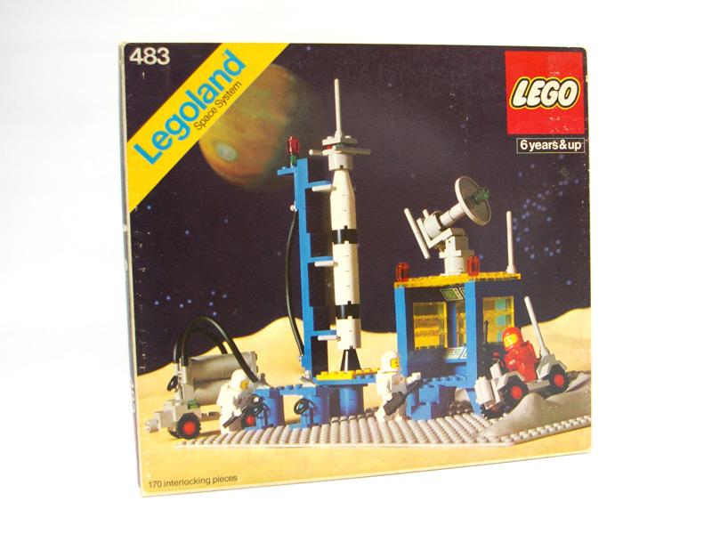 #483 レゴ ロケット発射基地
