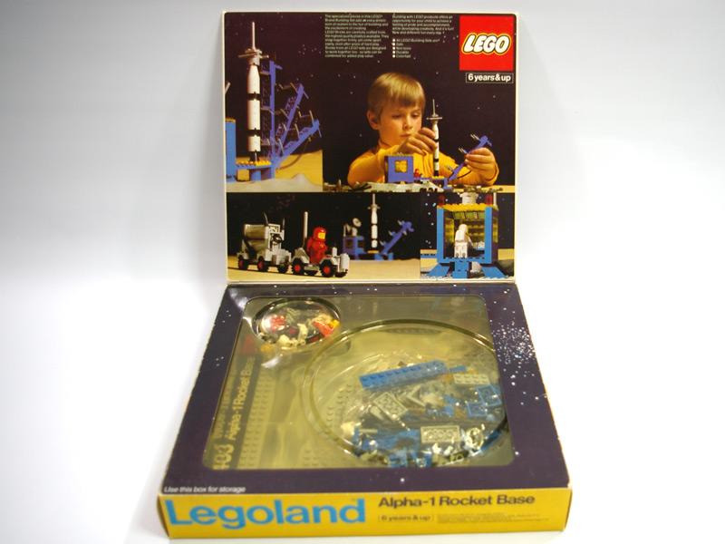 #483 レゴ ロケット発射基地 中面の写真