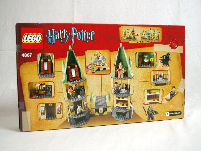 #4867 レゴ ホグワーツをかけた戦い 背面の写真