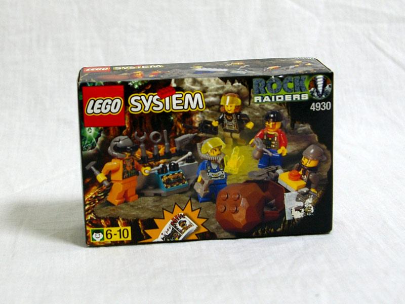 #4930 レゴ ロックレイダース 人形セット