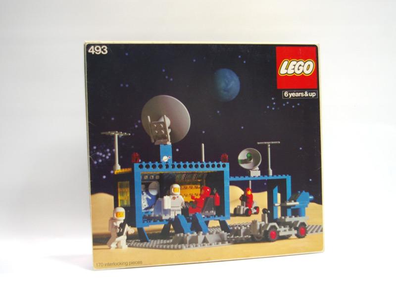 #493 レゴ 宇宙司令室
