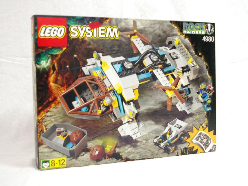 #4980 レゴ レイダースホーバー