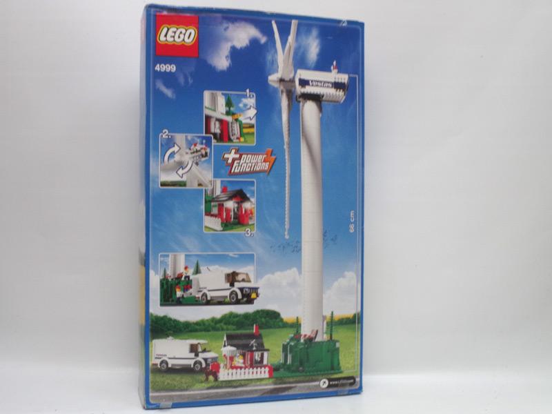 #4999 レゴ ヴェスタス風力発電所 背面の写真