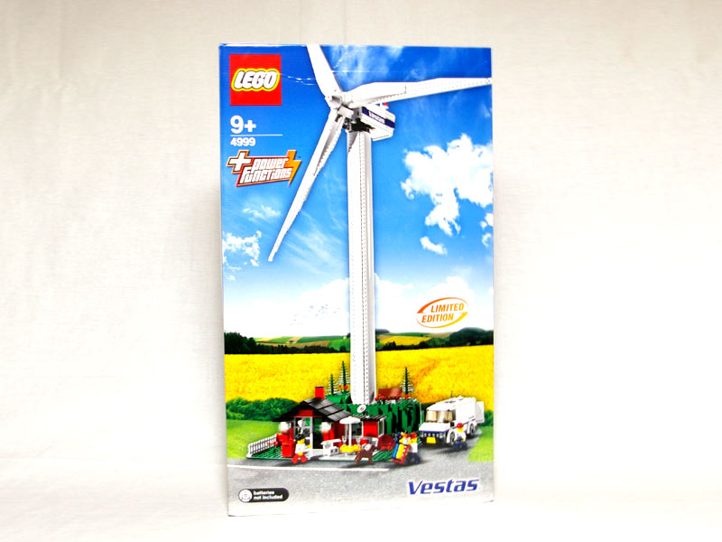 #4999 レゴ ヴェスタス風力発電所 正面の画像