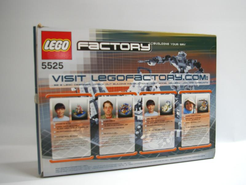 #5525 レゴ アミューズメント・パーク 背面の写真