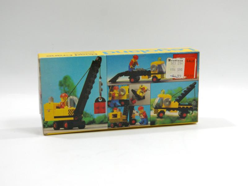 #558 レゴ クレーン車 背面の写真