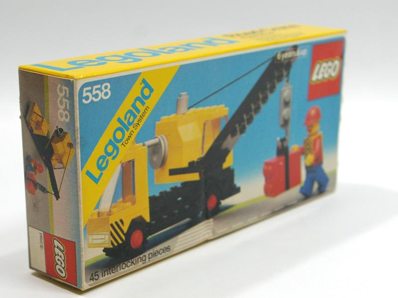 #558 レゴ クレーン車 撮影時に気になった箇所を拡大撮影しました。